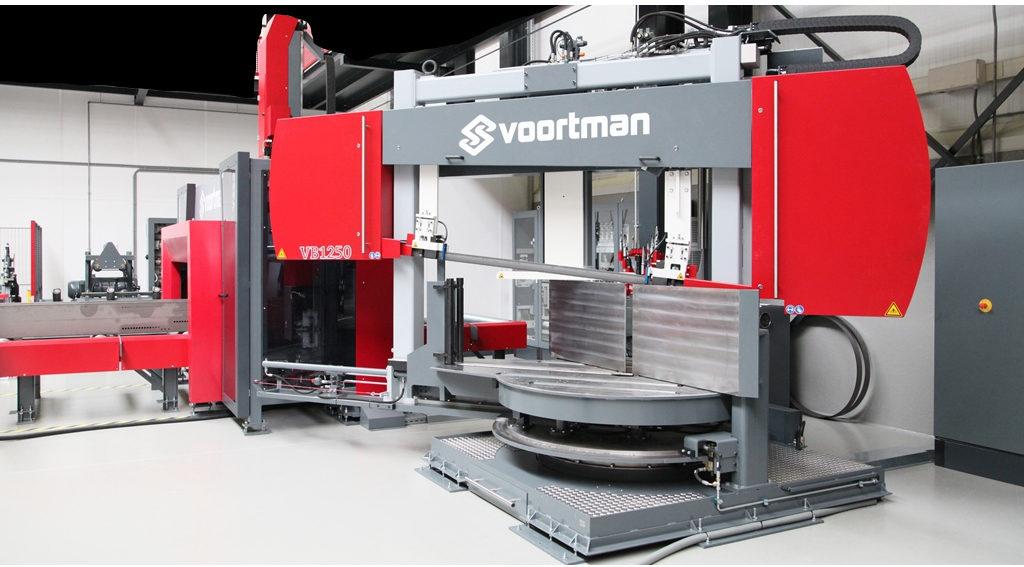 Автоматическая ленточная пила VOORTMAN VB 1250
