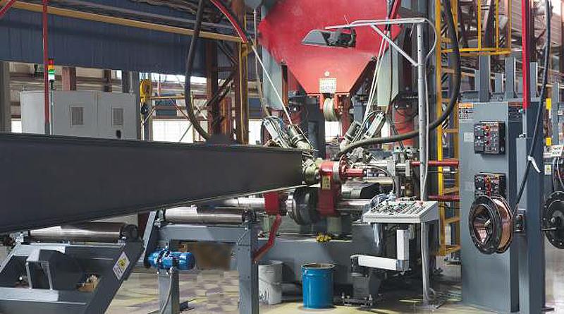 Машина для сварки балок Corimpex BWM3000-1000